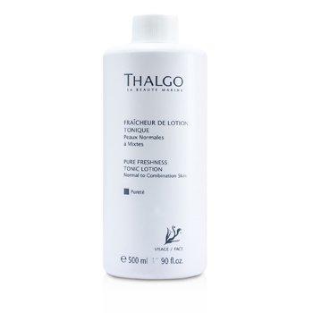 Thalgo لوسیون پاکسازی کننده و شاداب کننده Pure Freshness (پوست معمولی/مختلط) (سایز مخصوص سالن های آرایش)  500ml/16.90oz