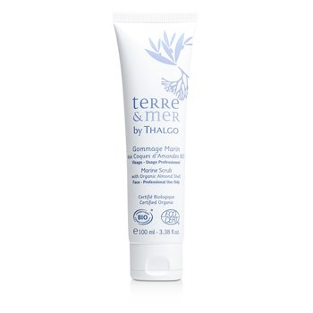 Thalgo Terre & Mer Marine Scrub with Organic Almond Shell  (Salon Size)  100ml/3.38oz