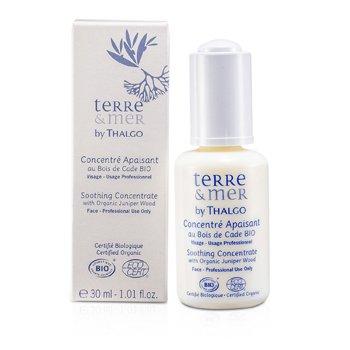 Thalgo سرم تسکین دهنده پوست Terre & Mer حاوی عصاره چوب سرو کوهی (سایز مخصوص سالن های آرایش)  30ml/1oz