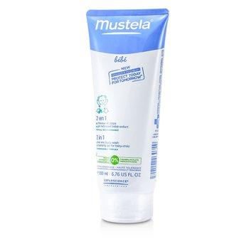 Szampon i żel do mycia głowy i ciała 2w1 2 In 1 Hair and Body Wash  200ml/6.76oz