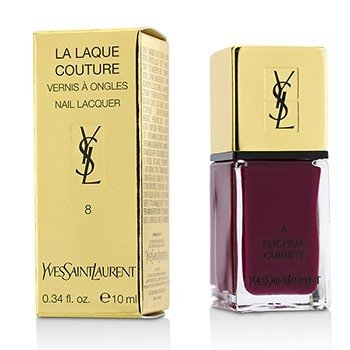 Yves Saint Laurent La Laque Couture Laca de Uñas - # 8 Fuchsia Cubiste  10ml/0.34oz