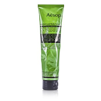 Geranium Leaf Body Scrub (Tube) 170ml/5.7oz