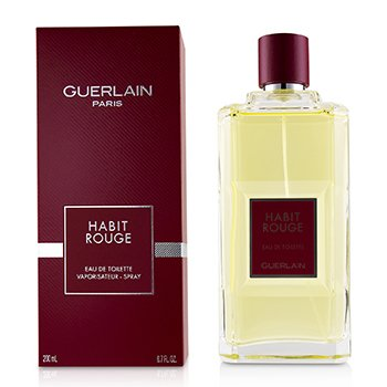 Habit Rouge Eau De Toilette Spray  200ml/6.8oz