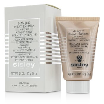 Radiant Glow Express Mask With Red Clays - Intensive Formula  60ml/2.3oz