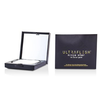 Fusion Beauty Ultraflesh Ninja Star 18 Karat Gold Pudră Aurie Finisaj Dual - # Suffused  7.7g/0.27oz