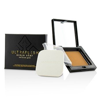 Ultraflesh Ninja Star 18 Karat Gold Dual Finish Moisturizing Powder  7.7g/0.27oz