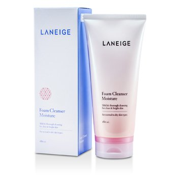 Foam Cleanser Moisture (For Normal to Dry Skin) 180ml/6.1oz