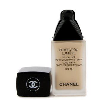 Chanel Base liquida Perfection Lumiere Long Wear Flawless Fluid Make Up SPF 10 - # 20 Beige  30ml/1oz