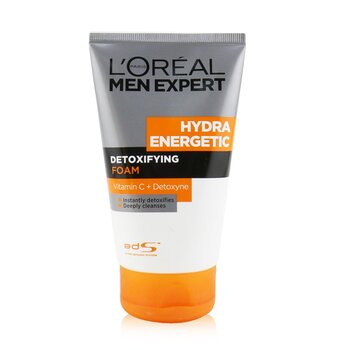 Men Expert Hydra Energetic Detoxifying Foam  100ml/3.4oz