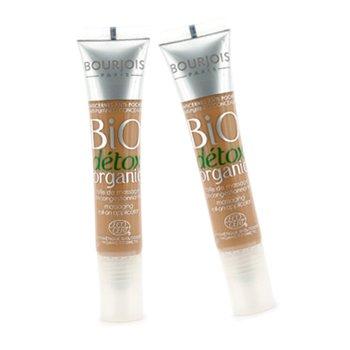 Bourjois Corretivo Bio Detox Organic Anti Bolsas dos Olhos Pacote com Dois - No. 03 Bronzeado a Escuro  2x8ml/0.27oz