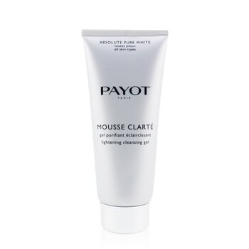 Payot Gel de Limpeza Absolute Pure White Mousse Clarte Lightening  200ml/6.7oz