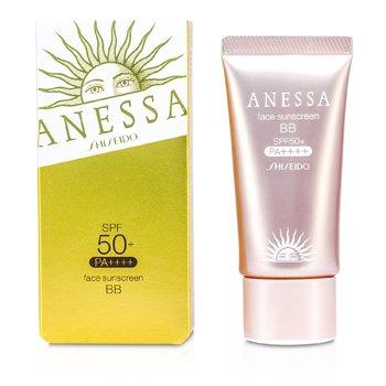Shiseido Anessa Face Sunscreen BB Natural SPF 50+ PA+++  30g/1oz
