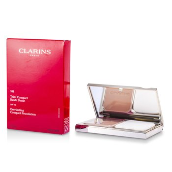 Clarins Everlasting Base Maquillaje Compacta SPF 15 - # 109 Wheat  10g/0.35oz