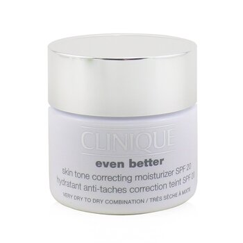 Clinique Even Better Skin Tone Correcting Moisturizer SPF 20 (Very Dry to Dry Combination)  50ml/1.7oz