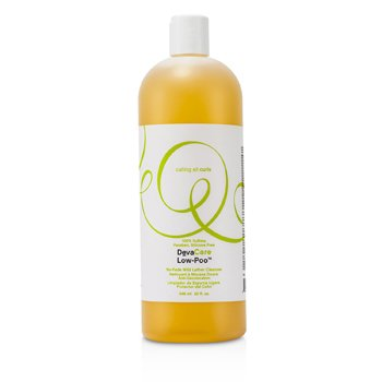 DevaCurl DevaCare Low-Poo No-Fade Mild Lather Cleanser  946ml/32oz