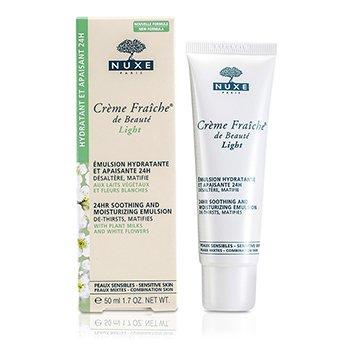 Nuxe Creme Fraiche De Beaute Light 24HR Soothing And Moisturizing Emulsion (Sensitive & Combination Skin)  50ml/1.7oz