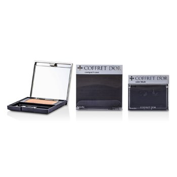 Kanebo Coffret D'or Color Blush (With Case, Without Applicator) - # OR-22