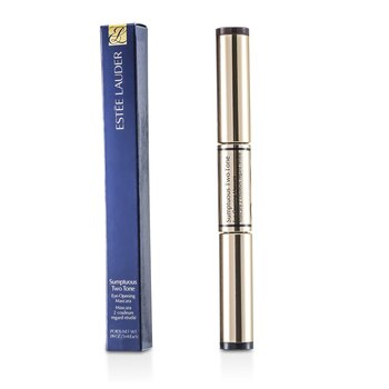 Estee Lauder Sumptuous Two Tone Eye Opening M�scara - # 01 Bold Black/Rich Brown  2x3ml/0.09oz