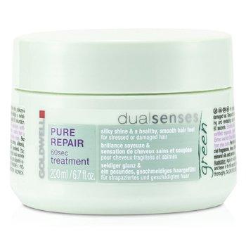 Goldwell Dual Senses Green Pure Repair 60 Sec Treatment (For Stressed Or Damaged Hair)  200ml/6.7oz
