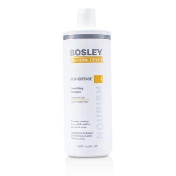 Bosley Professional Strength Bos Apărare Şampon Hrănitor (Pentru Păr Normal şi Fin Vopsit)  1000ml/33.8oz