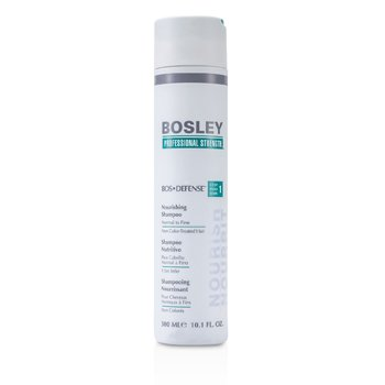 Bosley Professional Strength Bos Defense Nourishing Shampoo (For Normal to Fine Non Color-Treated Hair)  300ml/10.1oz