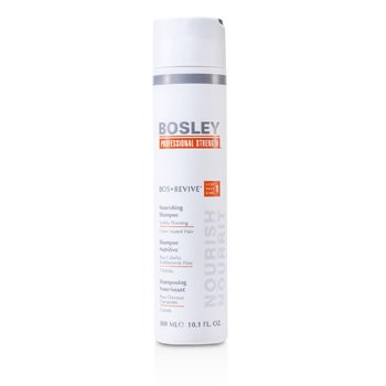 Bosley Professional Strength Bos Revitalizant Şampon Hrănitor (Pentru Păr Vopsit,Vizibil Rărit)  300ml/10.1oz