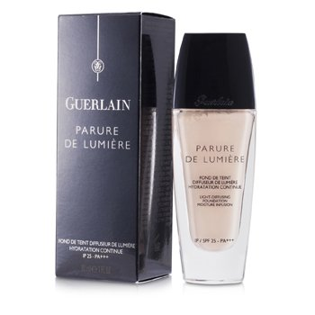 Guerlain Parure De Lumiere Light Diffusing Fluid Foundation SPF 25 - # 01 Beige Pale  30ml/1oz