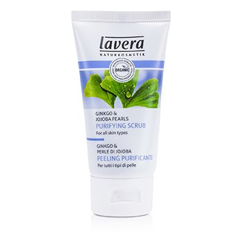Lavera Purifying Scrub - For All Skin Types  50ml/1.6oz