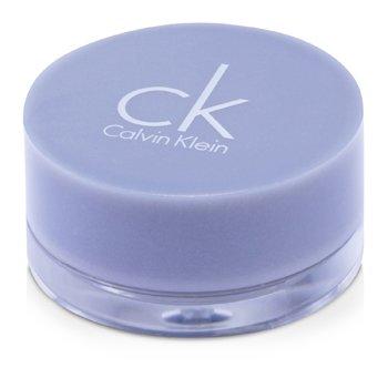 Calvin Klein Sombra Tempting Glimmer Sheer Creme EyeShadow (Nova embalagem) - #309 Retro Silver (Fora da caixa)  2.5g/0.08oz