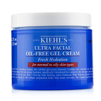 Ultra Facial Oil-Free Gel Cream - For Normal to Oily Skin Types  125ml/4.2oz