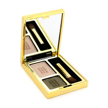 Elizabeth Arden Beautiful Color Eyeshadow Duo - # 01 Classic Khaki  3g/0.11oz