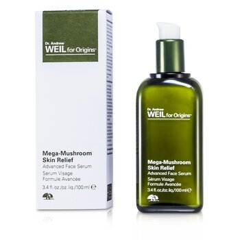 Origins Dr. Andrew Mega-Mushroom Skin Relief Advanced Face Serum  100ml/3.4oz