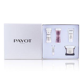Payot Les Sensitives Creme Douce Riche Set: Cream 50ml + Cleanser 30ml + Lotion 30ml + Masque 15ml + Serum  5pcs