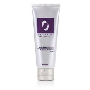 Age Prevention Sheer Tinte Facial SPF 45 - Medium  50ml/1.7oz