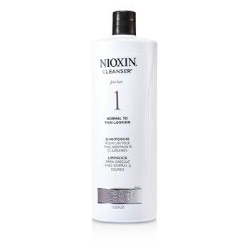 System 1 Cleanser For Fine Hair, Normal to Thin-Looking Hair  1000ml/33.8oz