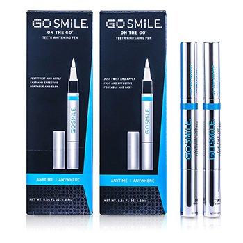 GoSmile On The Go Teeth Whitening Pen Duo  2x1.3ml/0.04oz