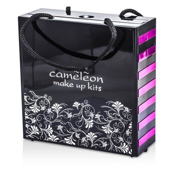 MakeUp Kit 398: (72x Eyeshadow, 2x Powder, 3x Blush, 8x Lipgloss, 1x Mini Mascara, 6x Applicator)  -