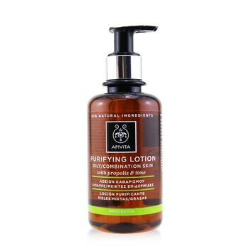 Apivita Purifying Tonic Lotion with Propolis & Citrus (Oily/Combination Skin)  200ml/6.8oz