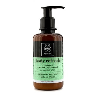 Apivita Body Refresh Leche Corporal Refrescante  200ml/7.05oz