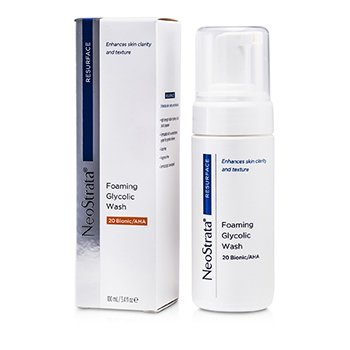 Resurface Foaming Glycolic Wash 20 Bionic/AHA  100ml/3.4oz