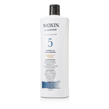 System 5 Cleanser For Medium to Coarse Hair, Chemically Treated, Normal to Thin-Looking Hair  1000ml/33.8oz