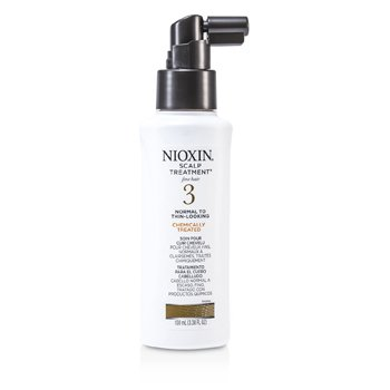 System 3 Scalp Treatment For Fine Hair, Chemically Treated, Normal to Thin-Looking Hair 100ml/3.38oz