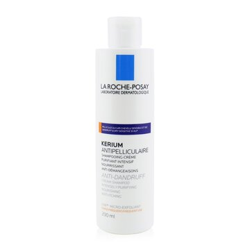 Kerium Anti-Dandruff Cream Shampoo (For Dry Hair or Scalp) 200ml/6.7oz