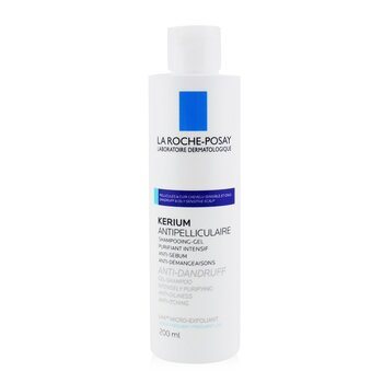 Kerium Anti-Dandruff Micro-Exfoliating LHA Gel Shampoo (For Oily Scalp)  200ml/6.7oz
