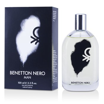 Benetton Nero Eau De Toilette Spray  100ml/3.3oz