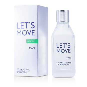 Benetton Let's Move Eau De Toilette Spray  100ml/3.3oz