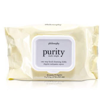 Philosophy Purity Made Simple Toallitas Desmaquilladoras  30towlettes
