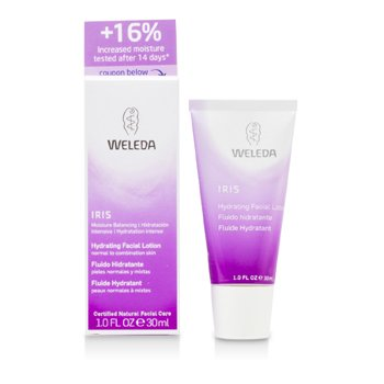 Weleda Iris Hydrating Facial Lotion For Normal To Combination Skin  30ml/1oz