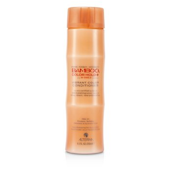 Bamboo Color Hold+ Color Protection Vibrant Color Conditioner (For Strong, Vibrant, Color-Protected Hair)  250ml/8.5oz