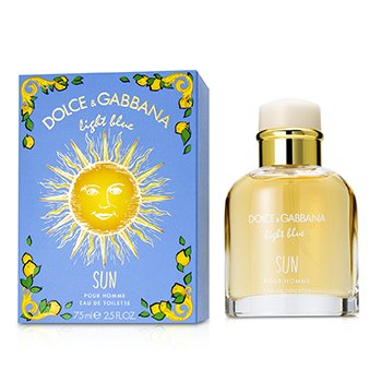 Light Blue Sun Pour Homme Eau De Toilette Spray  75ml/2.5oz